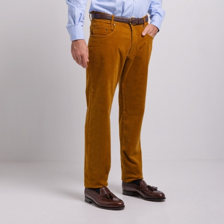 Pantalon regular 5 poches