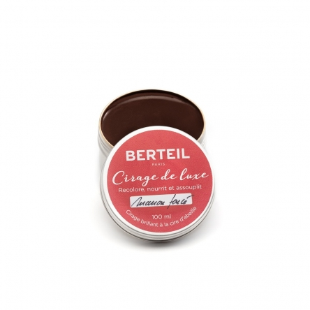 Cirage de luxe marron Berteil