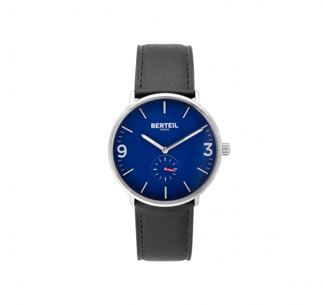 Montre fairman fond bleu