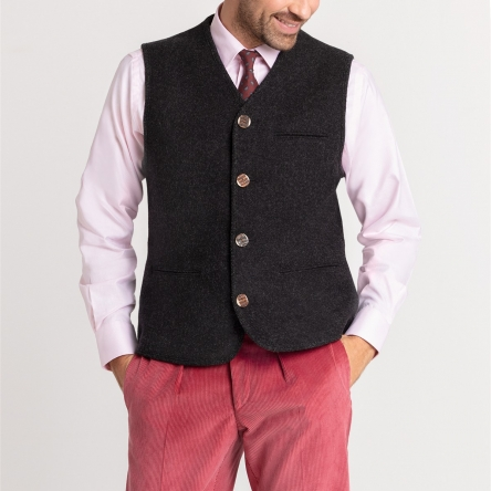 Gilet traditionnel noir